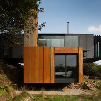 Casas de estilo moderno de Patrick Bradley Architects