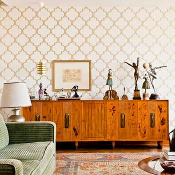 Salones de estilo moderno de CARMELLO ARQUITETURA