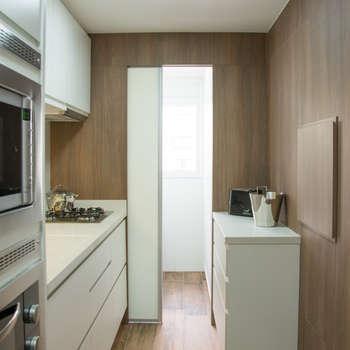 moderne Keuken door Bibiana Menegaz - Arquitetura de Atmosfera