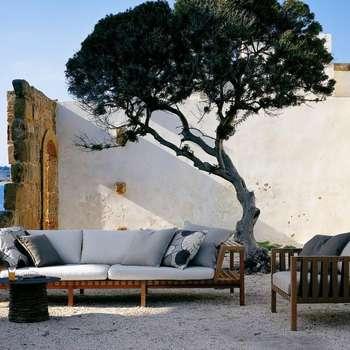 Salon de jardin MISTRAL by RODA: Jardin de style de style Moderne par JARDINCHIC.COM