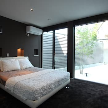 modern Bedroom by TERAJIMA ARCHITECTS