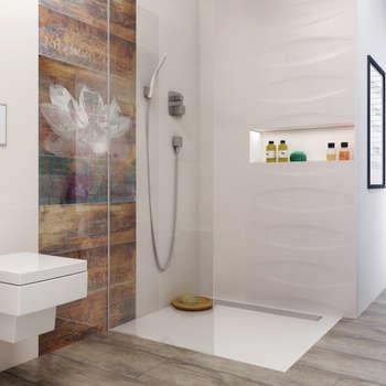 Kolekcja Manteia: styl , w kategorii Łazienka zaprojektowany przez Ceramika Paradyż