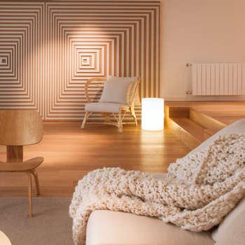 Soggiorno in stile in stile Moderno di Paula Herrero | Arquitectura