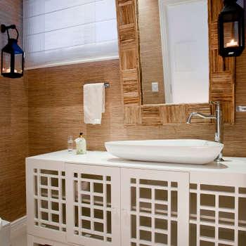 Ванные комнаты в . Автор – Karla Silva Designer de Interiores