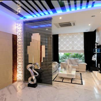 Salas de estilo moderno por NA ARCHITECTS