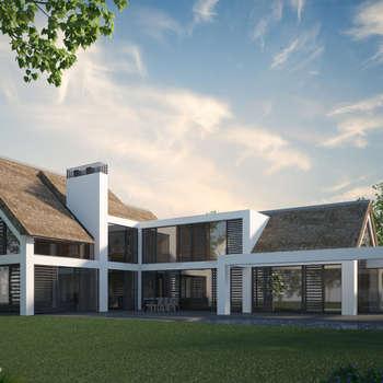 Villa JSPE: minimalistische Huizen door 2architecten