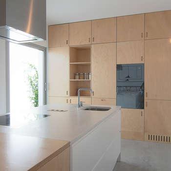 minimalistische Keuken door Estudio ODS