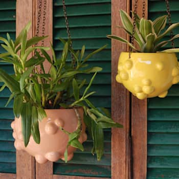 macetas Blup Colgantes: Jardines de estilo moderno por Cuantatienda