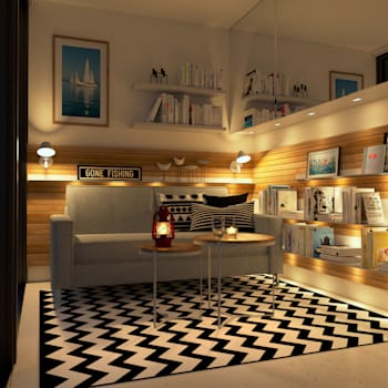 scandinavian Living room by Innenarchitektur | Ina Nimmrichter