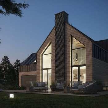 Dom pod Lublinem: styl nowoczesne, w kategorii Domy zaprojektowany przez Kamińska Stańczak