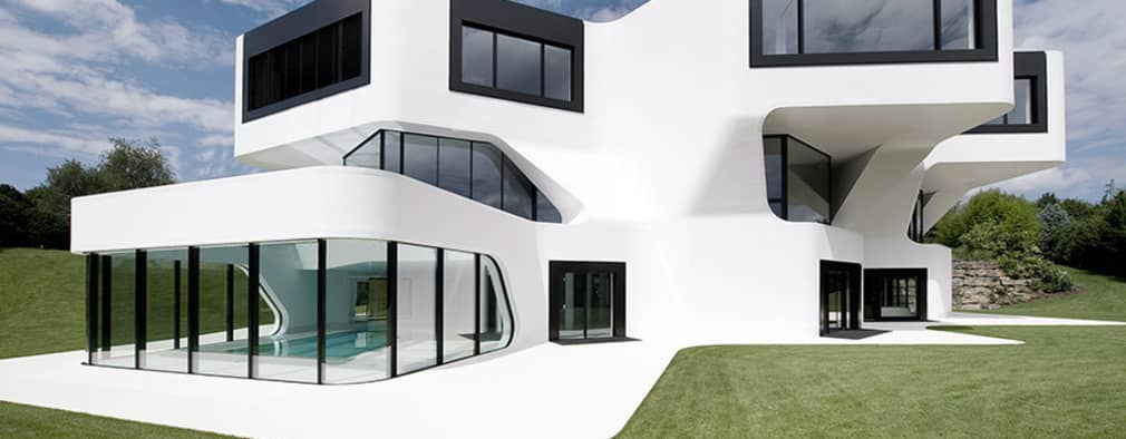 Casas de estilo  por J.MAYER.H