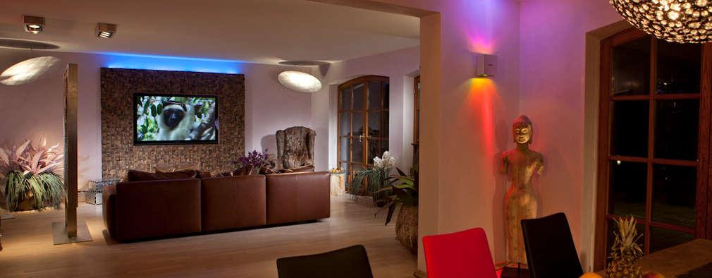 غرفة المعيشة تنفيذ Design by Torsten Müller