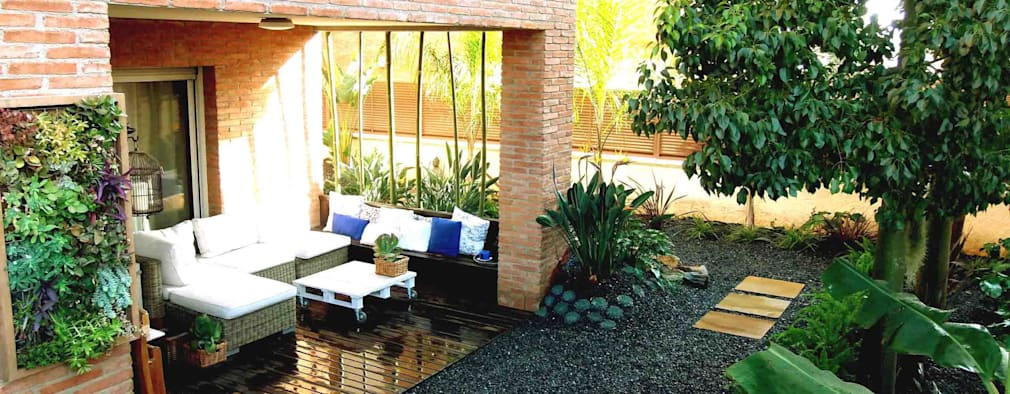 Jardins modernos por Simbiosi Estudi de Paisatgisme
