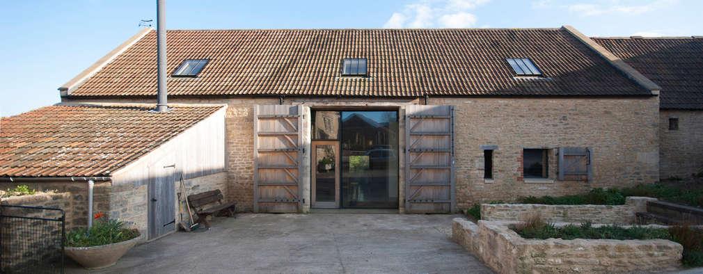 rustieke & brocante Huizen door Designscape Architects Ltd