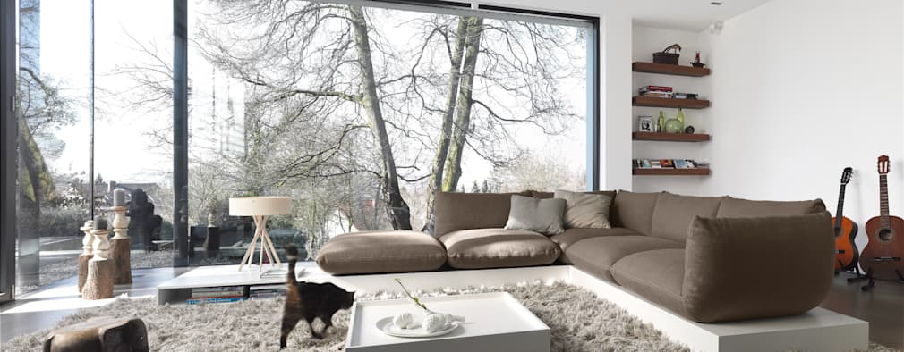 modern Living room by COR Sitzmöbel Helmut Lübke GmbH & Co. KG