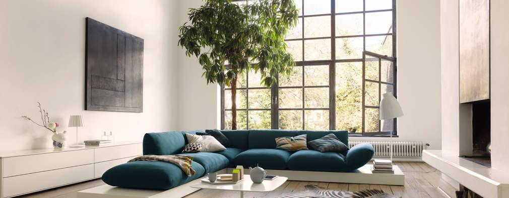 10 keer inspiratie voor een moderne woonkamer