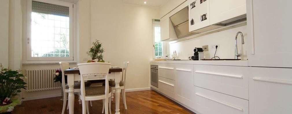 45 fotos de cocinas lineales para casas con poco espacio
