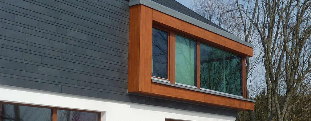 Architekturbüro HOFFMANN: modern tarz Evler