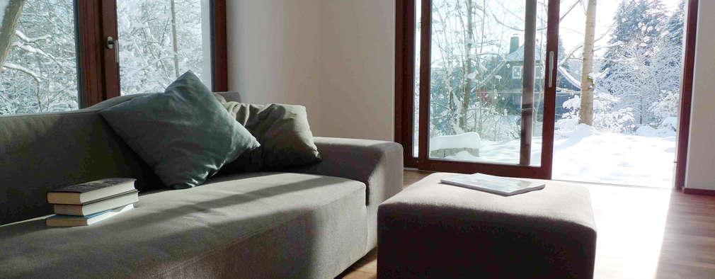 Гостиная в . Автор – Architekturbüro HOFFMANN