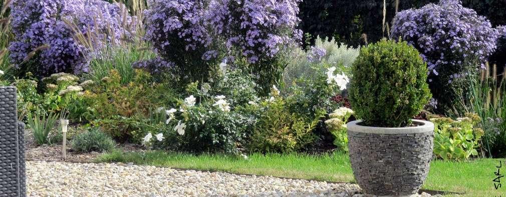 modern Garden by SCHAEDELE PAYSAGISTE