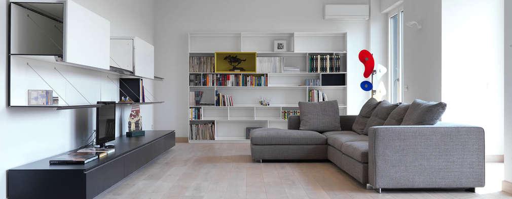 39 fotos espetaculares de salas de estar modernas com mil ideias para inspirar for Imagenes de salas modernas
