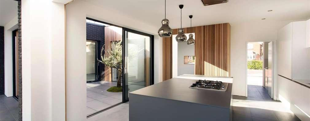 modern Kitchen by AR Design Studio
