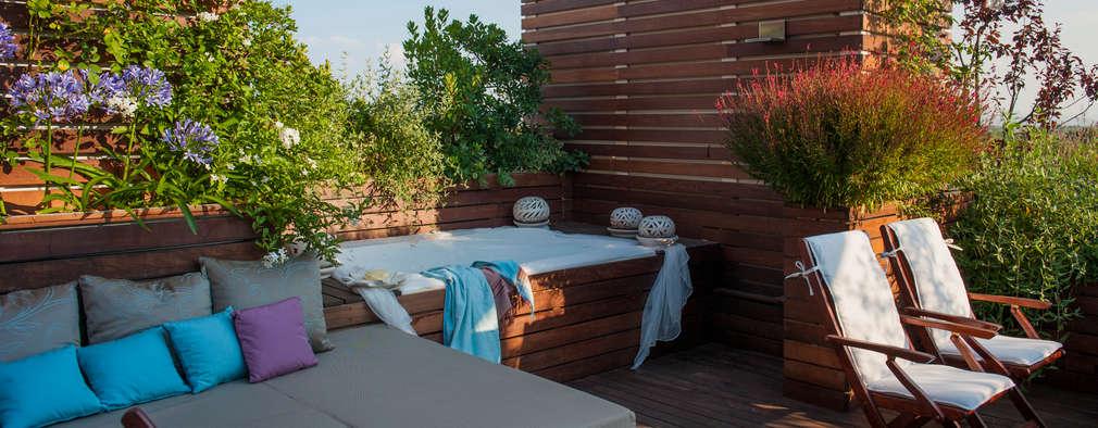 16 terrazas para copiar en tu azotea for Easy terrazas chile