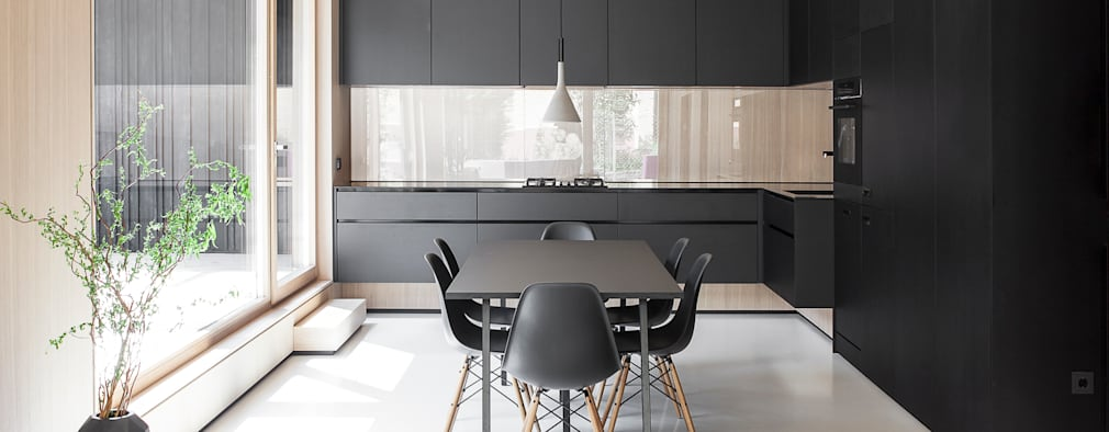 modern Kitchen by FORMAT ELF ARCHITEKTEN