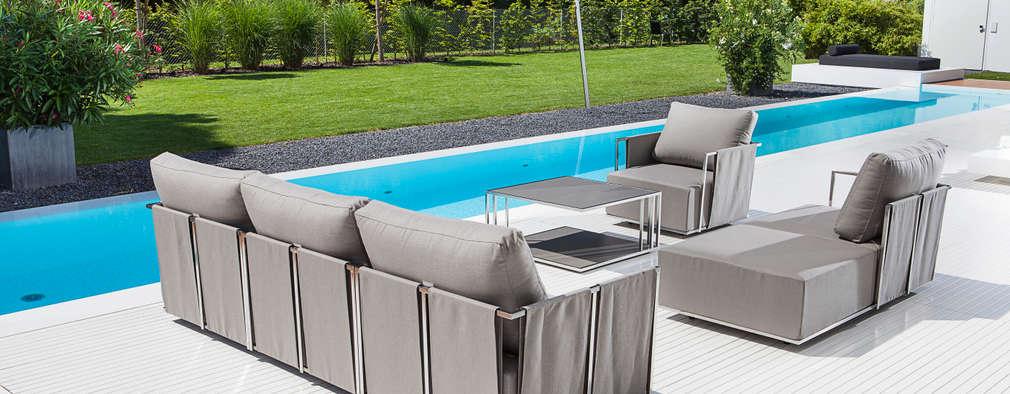 schicke outdoor loungem bel aus bielefeld. Black Bedroom Furniture Sets. Home Design Ideas