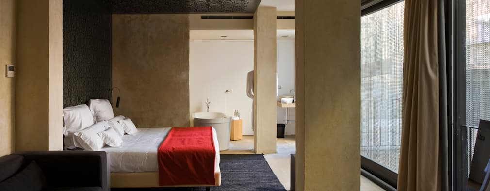 Спальни в . Автор – Donaire Arquitectos