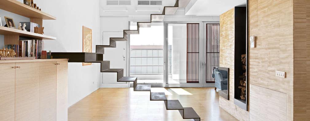 8 appartamenti moderni con scale fantastiche for Appartamenti moderni