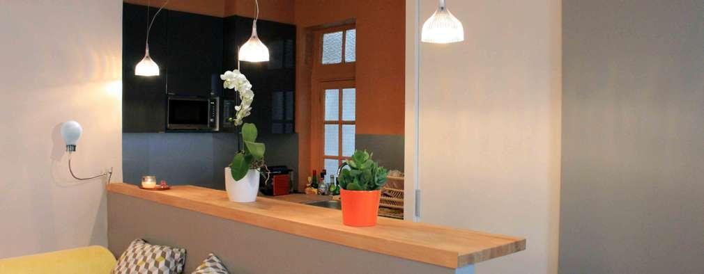 Cocinas de estilo moderno por Agence KP