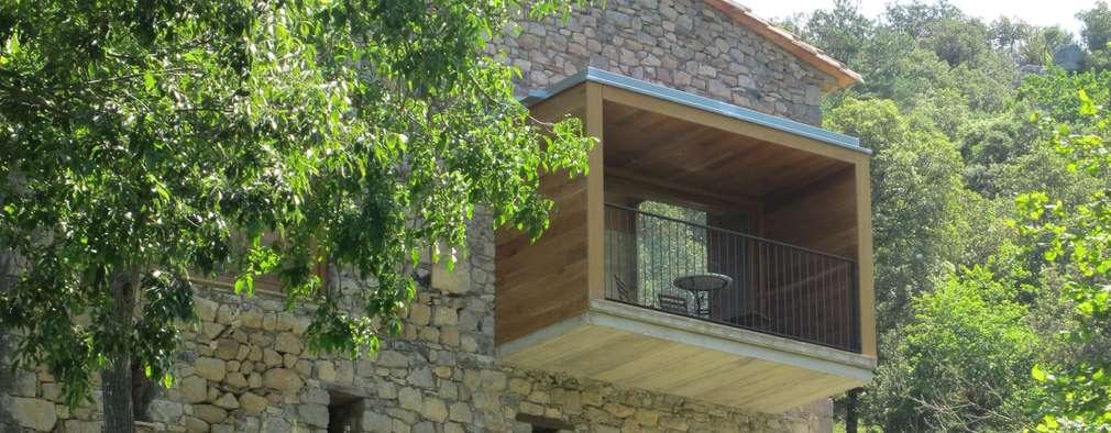 Projekty, wiejskie Domy zaprojektowane przez Arcadi Pla i Masmiquel Arquitecte
