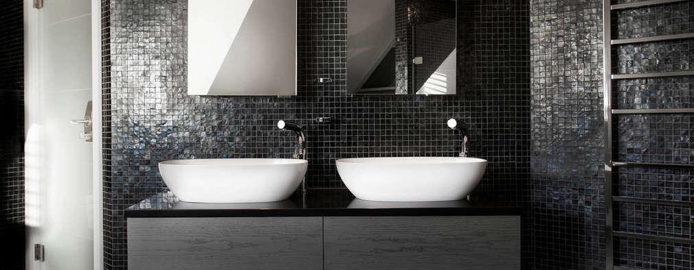 Luxury Bathroom : modern Bathroom by Emma Hooton Ltd