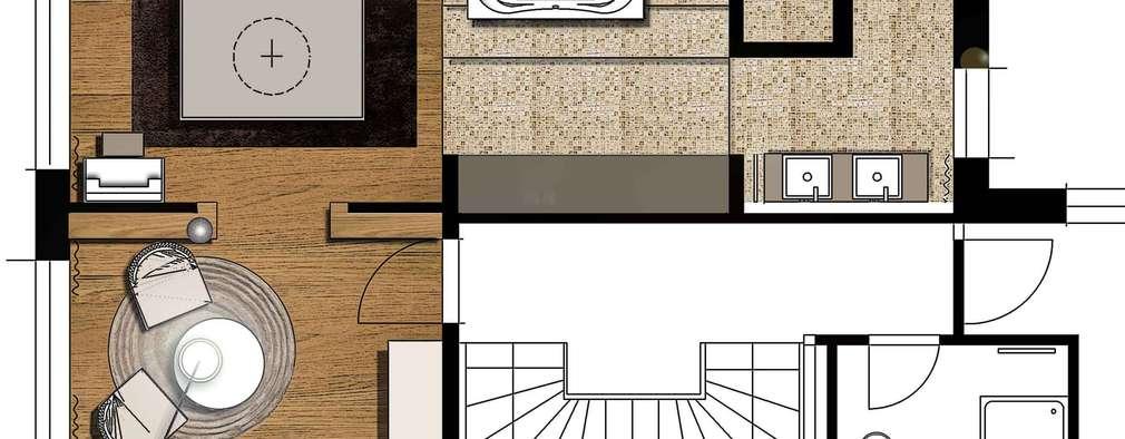 Baños de estilo clásico por Atelier Schöngestalt