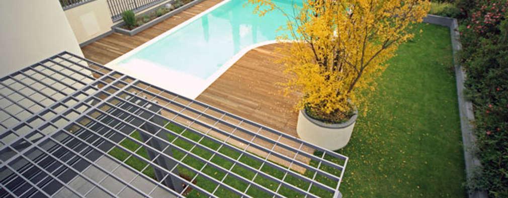 10 piscinas perfectas para peque os espacios for Piscinas para espacios reducidos