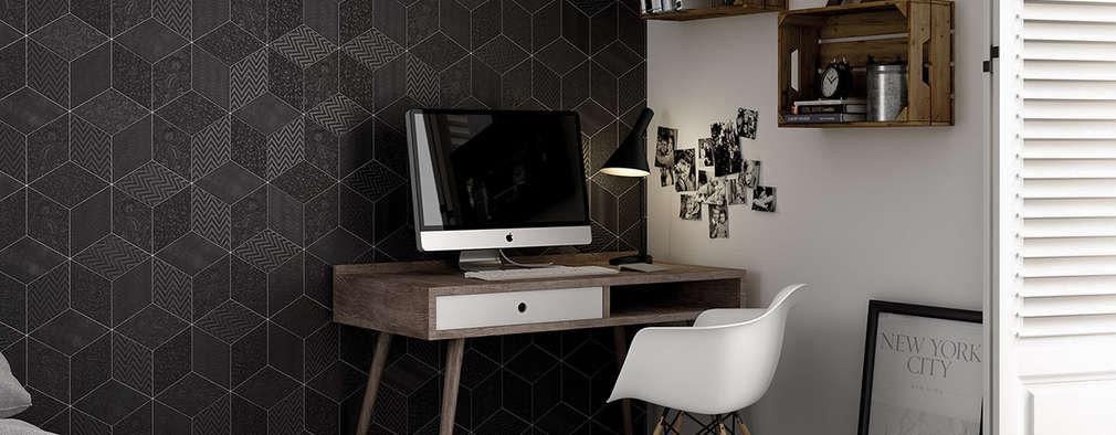 Estudios y biblioteca de estilo  por Equipe Ceramicas