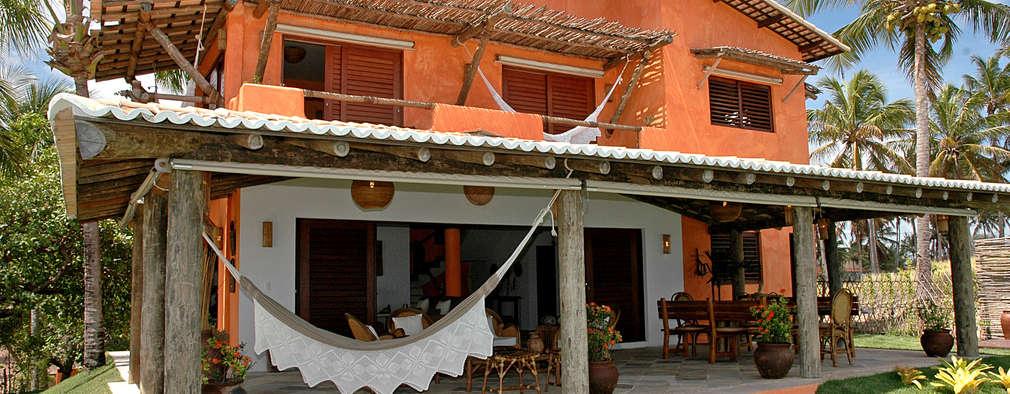 บ้านและที่อยู่อาศัย by Isnara Gurgel - Arquitetura + Interiores