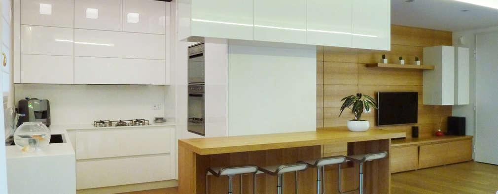 5 idee n voor een afscheiding tussen de keuken en de woonkamer - Afscheiding glas keuken woonkamer ...
