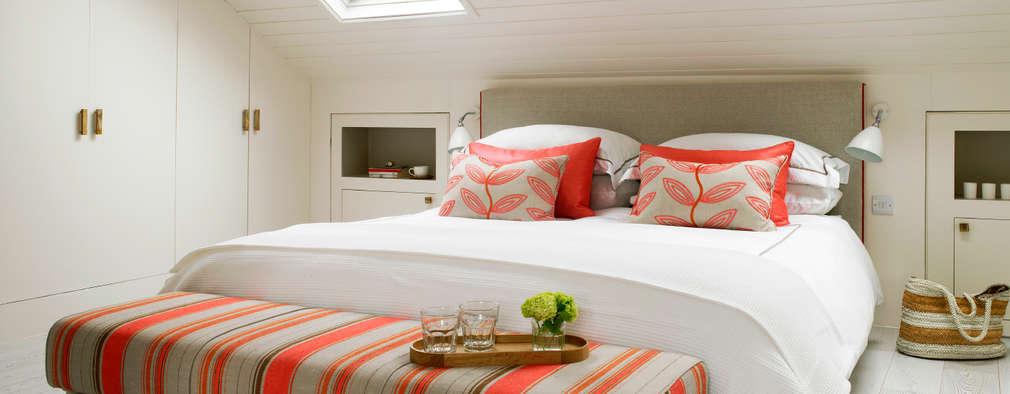 eclectische Slaapkamer door Amory Brown Ltd