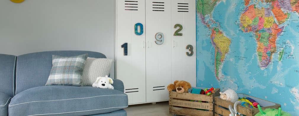 eclectic Nursery/kid's room by LEIVARS