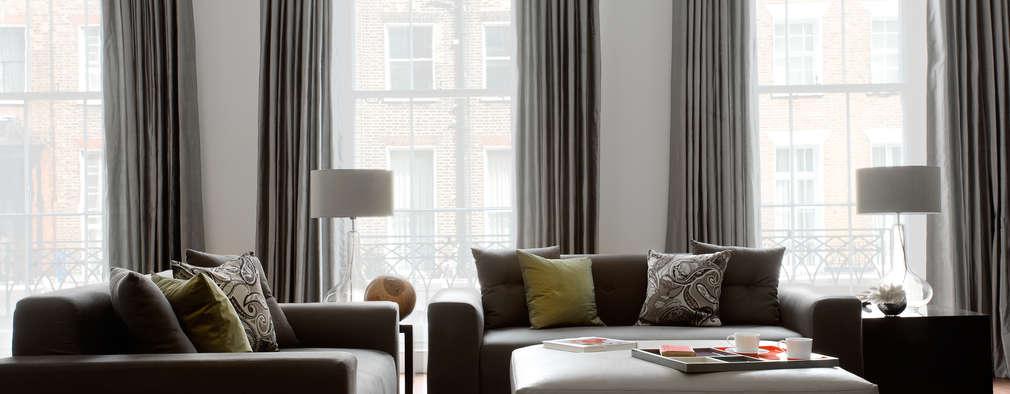 Salas de estilo moderno por LEIVARS
