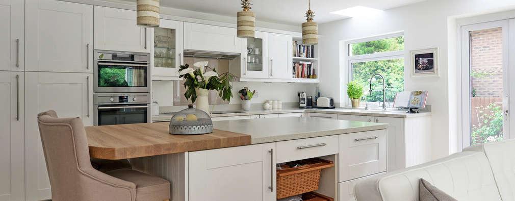 Poco espacio 8 cocinas comedor perfectas para tu casita - Sobre encimera cocina ...