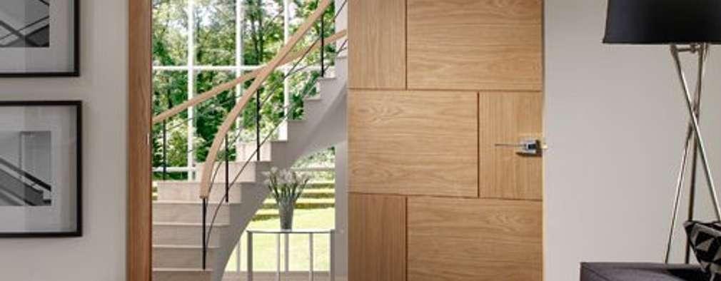Projekty,   zaprojektowane przez Modern Doors Ltd