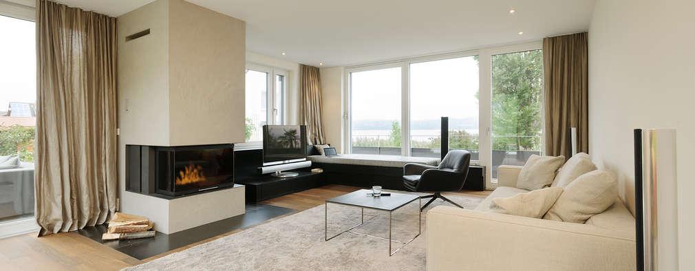 moderne Woonkamer door Spaett Architekten GmbH