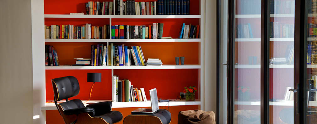 modern Study/office by Seymour-Smith Architects