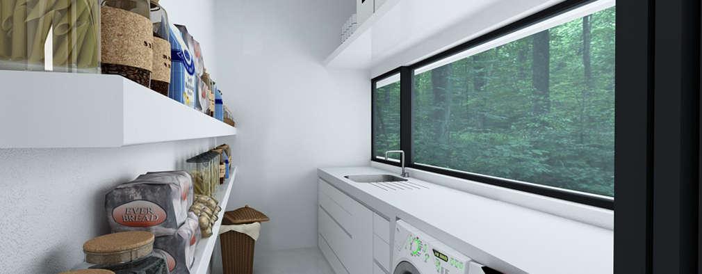10 ideas para tener un lavadero perfecto for Lavaderos de casas