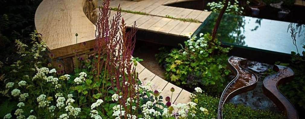 Projekty,  Powierzchnie handlowe zaprojektowane przez Cool Gardens Landscaping