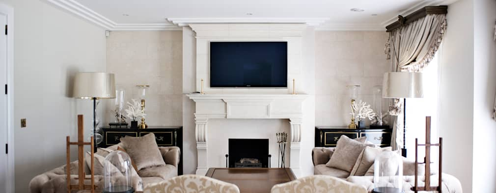 Salas multimedias de estilo  por London Residential AV Solutions Ltd