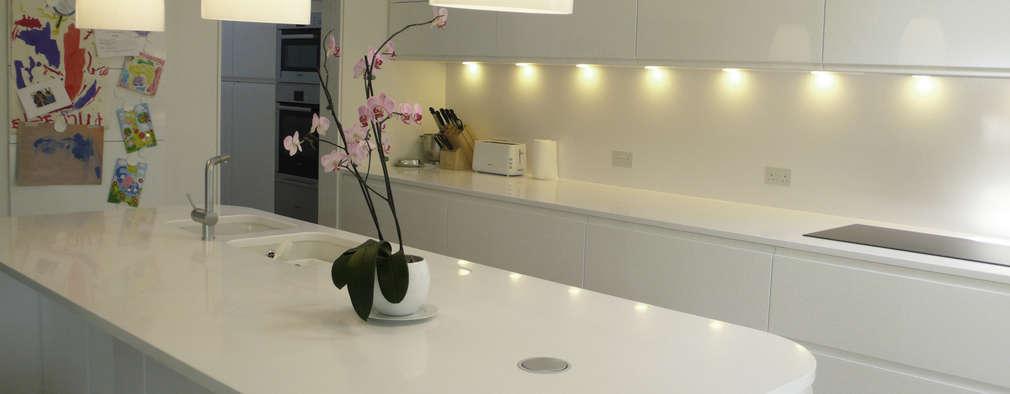 modern Kitchen by STUDIO 9010